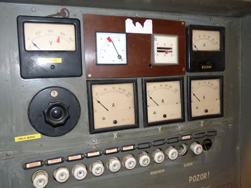 elektrický měřič proudu