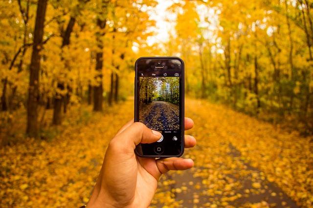 fotící mobil