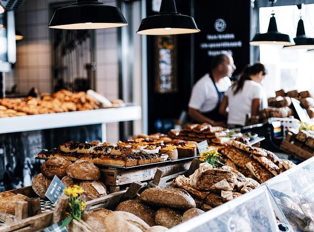 obchod s pečivem