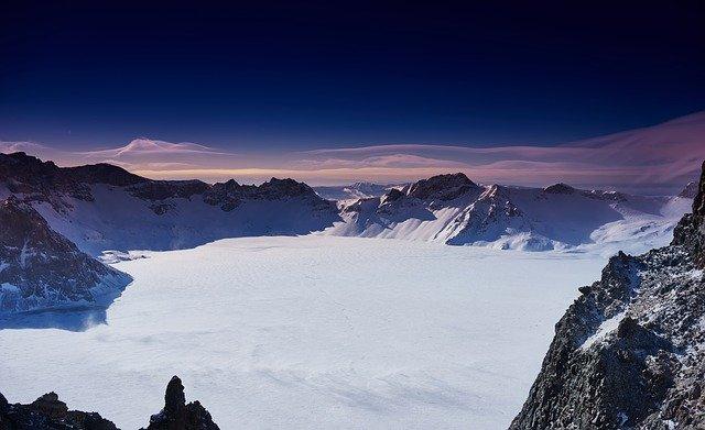 ledová krajina