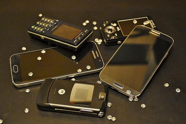 Vývoj mobilních telefonů