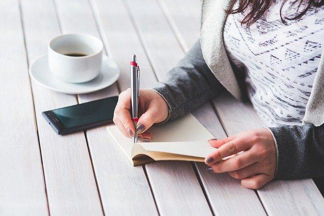 zapisování nápadů na podnikání